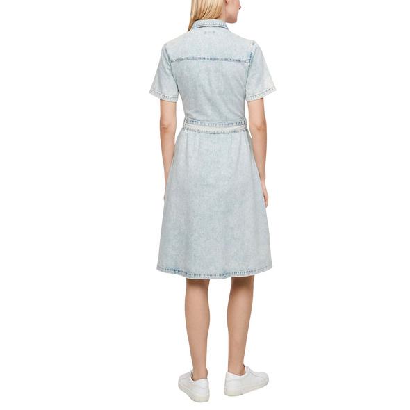 Jeanskleid mit Knopfleiste - Kleid
