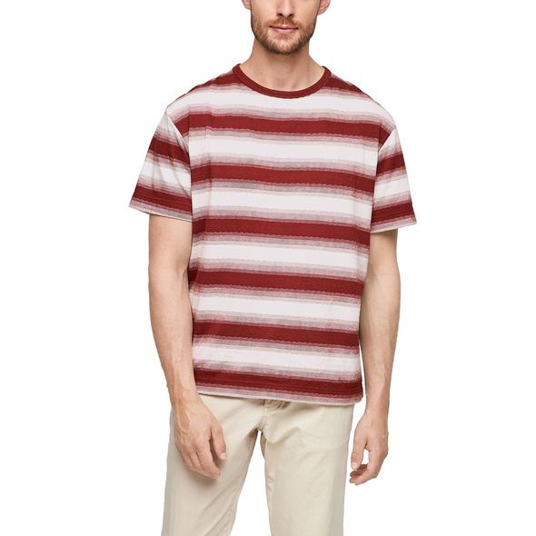 Streifenshirt aus Strickjersey - T-Shirt