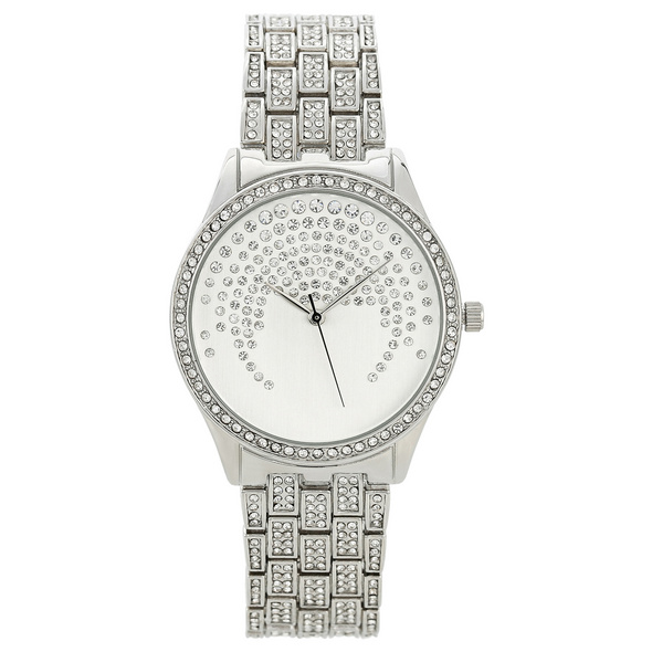 Uhr - Beautiful Silver Sparkle