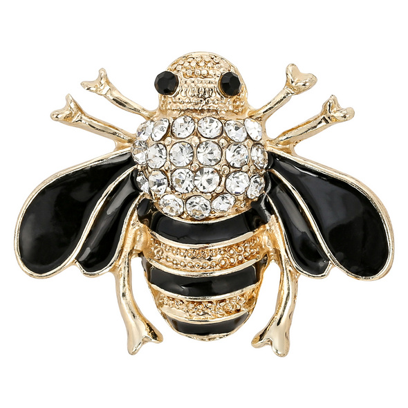 Brosche - Happy Bee