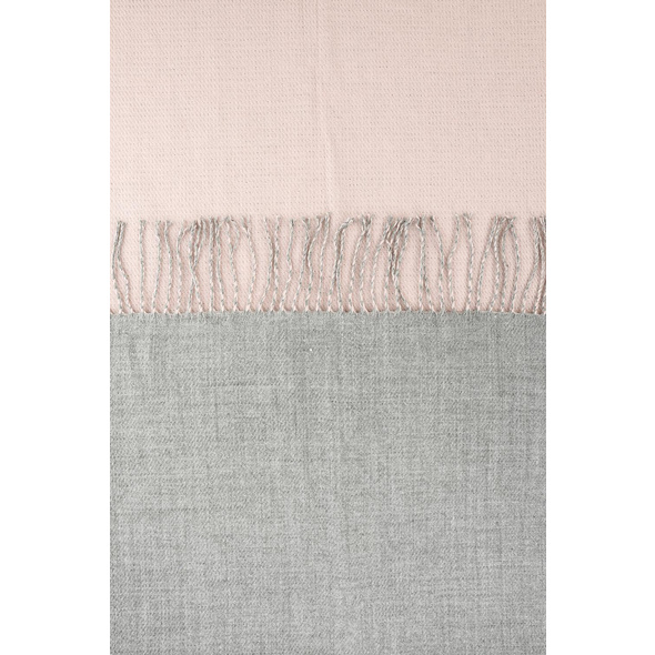 Schal - Grey and Pink