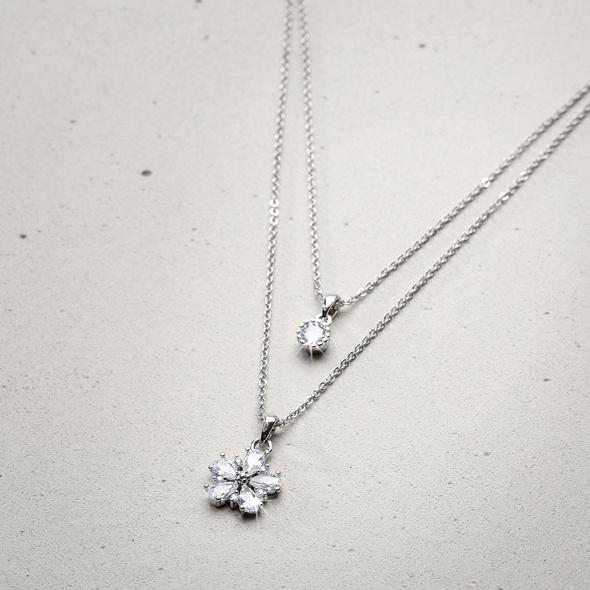 Ketten-Set - Shiny Flower