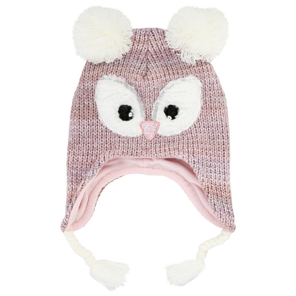 Mütze - Pinkish Owl
