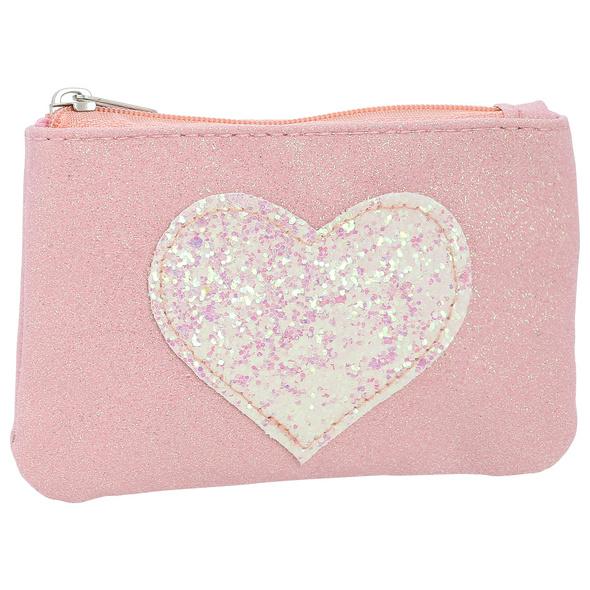 Kinder Portemonnaie - Glitter Heart