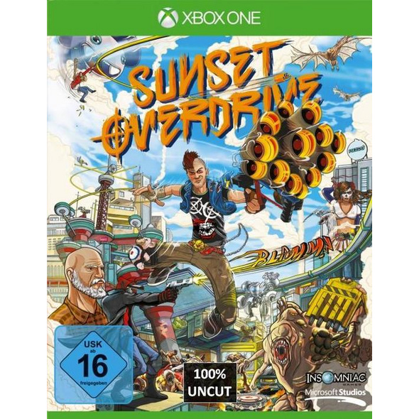 Microsoft Sunset Overdrive Day One Edition