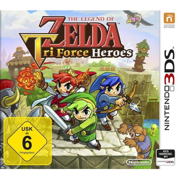 Nintendo The Legend of Zelda: TriForce Heroes