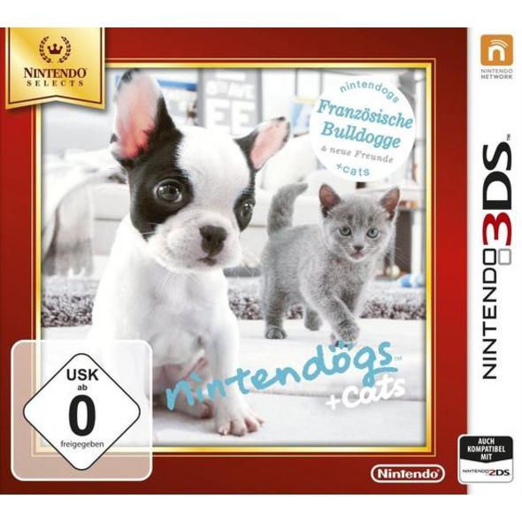 Nintendo Nintendogs + cats Französische Bulldoge (Nintendo Selects)