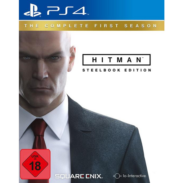SquareEnix Hitman 1st Season (Steelbook-Edition)