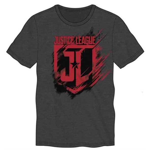 Justice League - T-Shirt Logo (Größe L)