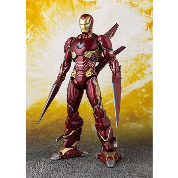 Marvel Iron Man - Figur MK 50 Nano Weapon