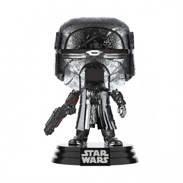 Star Wars - POP!-Vinyl Figur Ritter von Ren Blaster (Chrome)