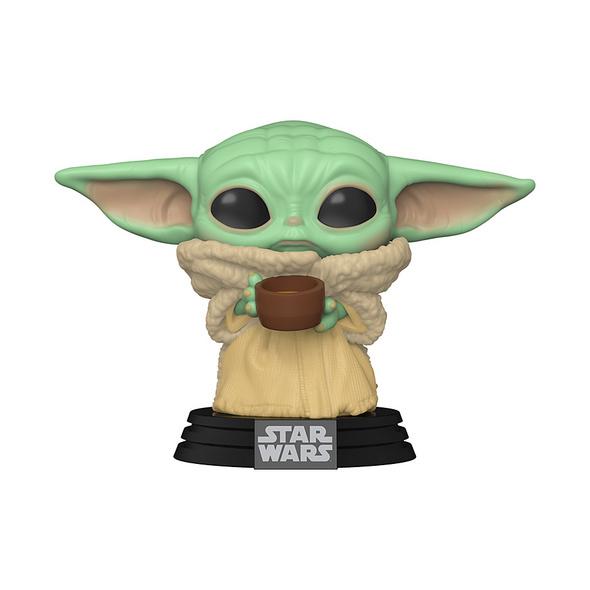 Star Wars: The Mandalorian - POP! Vinyl - Figur The Child mit Tasse