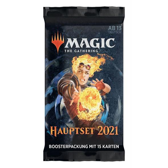 Magic the Gathering: Hauptset 2021 Booster Pack - Deutsch