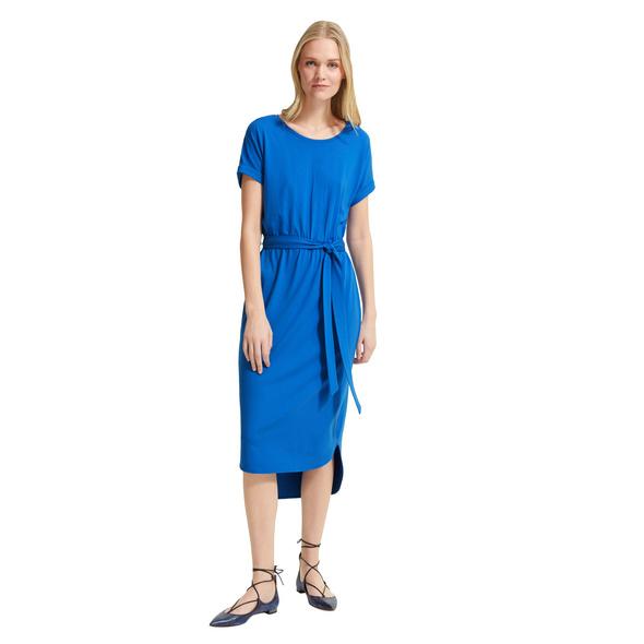 Jerseykleid mit Bindegürtel - Jerseykleid