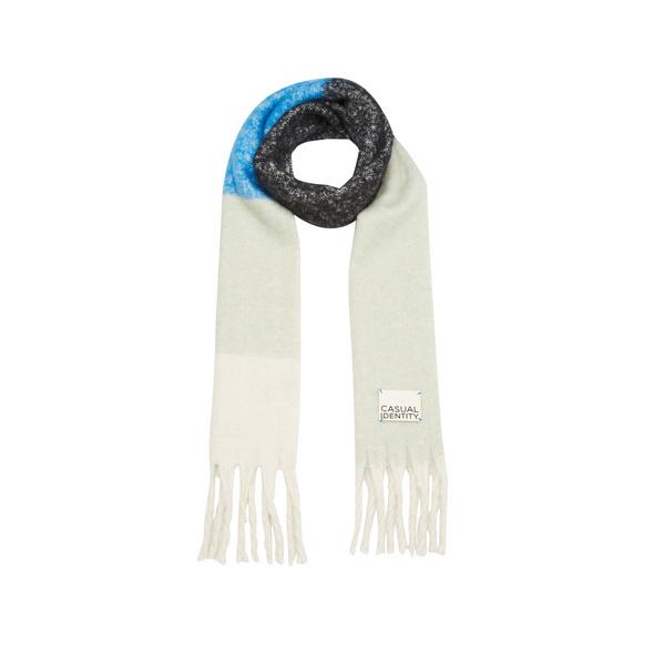 Kuscheliger Schal mit Fransen - Schal
