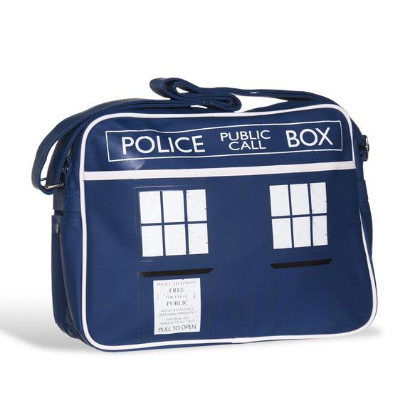 Doctor Who - Tardis Retro Umhängetasche