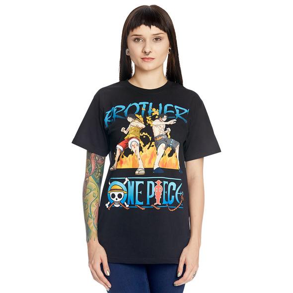 One Piece - Brothers T-Shirt schwarz
