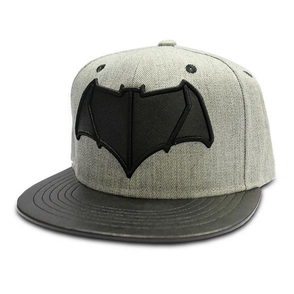 Batman v Superman - Logo Snapback Cap grau