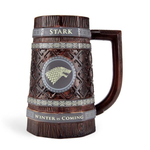 Game of Thrones - Stark Wappen Krug