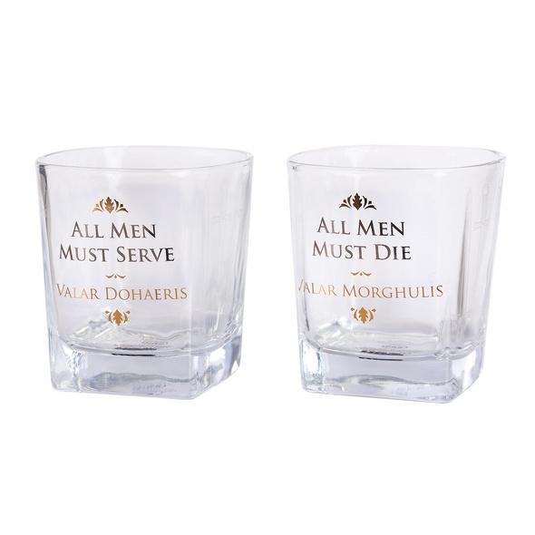 Game of Thrones - Serve & Die Gläserset