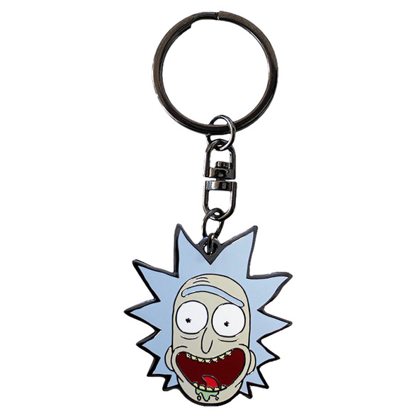 Rick and Morty - Rick Face Schlüsselanhänger