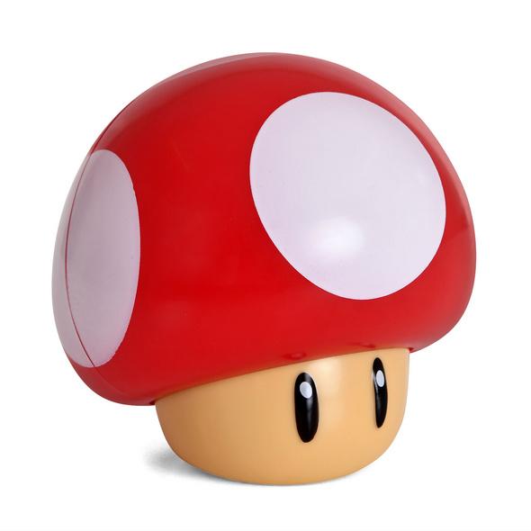 Super Mario - Super-Pilz Tischlampe mit Sound