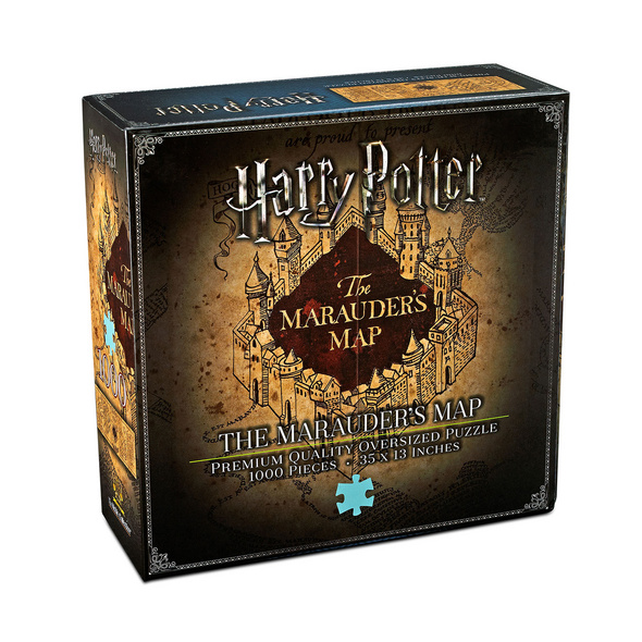 Harry Potter - Karte des Rumtreibers Premium Puzzle