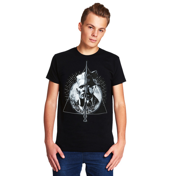 Grindelwald vs. Dumbledore - Phantastische Tierwesen T- Shirt schwarz