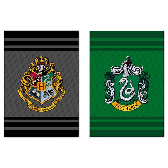 Harry Potter - Slytherin & Hogwarts Geschirrtücher Set