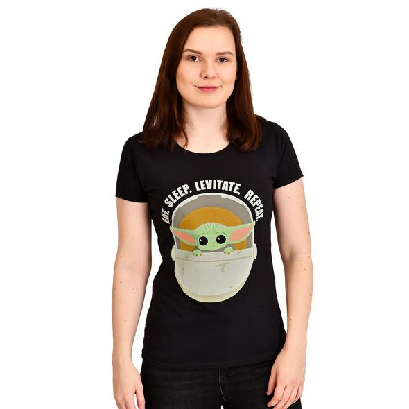 The Child Daily Routine T-Shirt Damen - Star Wars The Mandalorian