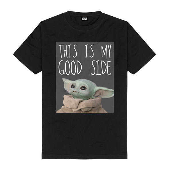 The Child My Good Side T-Shirt schwarz - Star Wars The Mandalorian