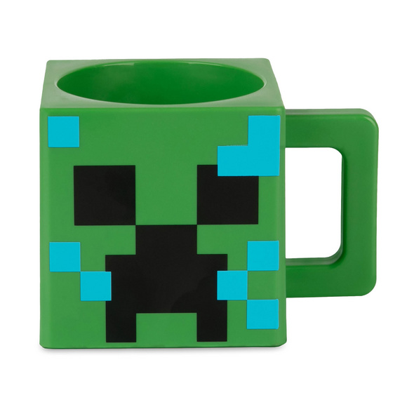 Minecraft - Charged Creeper Tasse grün