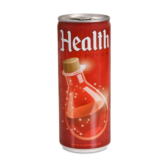 Health Potion ISO Drink für Gaming Fans
