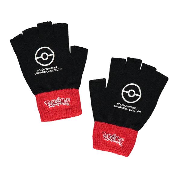 Pokemon - Fingerlose Trainer Handschuhe