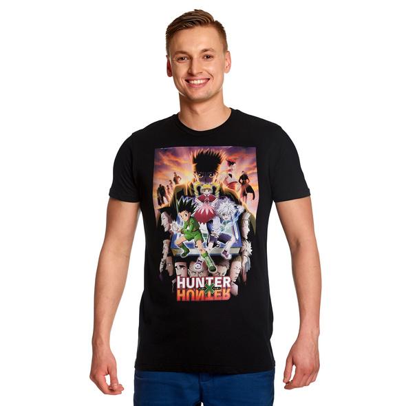 Hunter x Hunter - Group T-Shirt schwarz