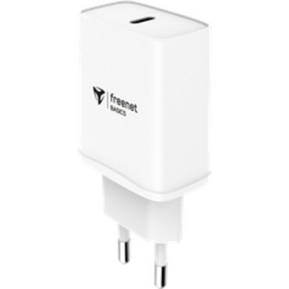 freenet Basics Travel Charger USB-C Power Delivery 20W