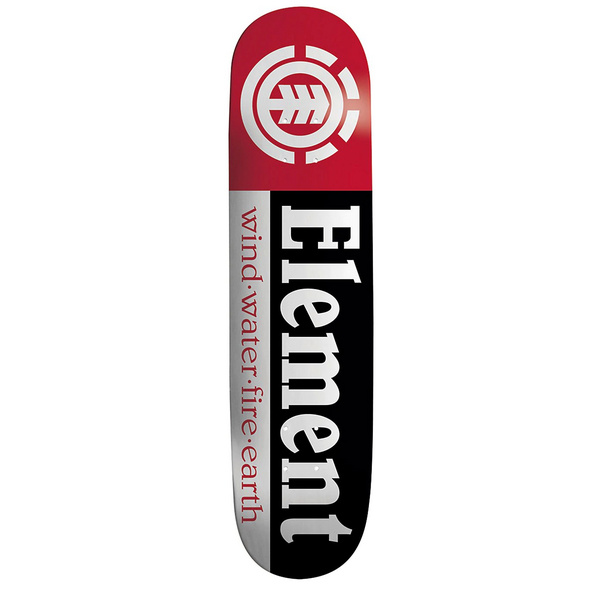 "Section Black Shape 9 7.75"" Skateboard Deck"