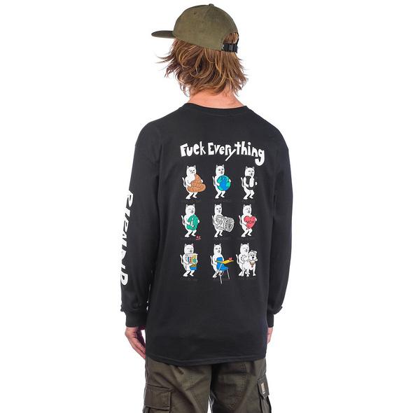 Fuck Everything Long Sleeve T-Shirt