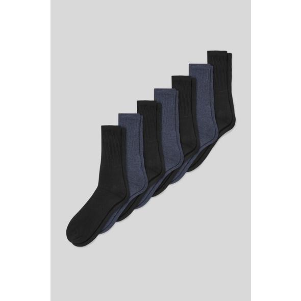 Socken - Bio-Bauwolle - 7 Paar