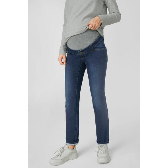 Slim Jeans - Umstandsjeans - Bio-Baumwolle