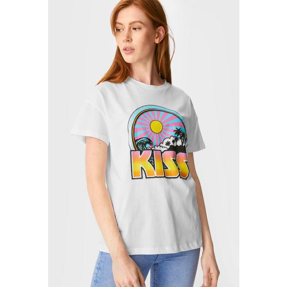 CLOCKHOUSE - T-Shirt - Kiss