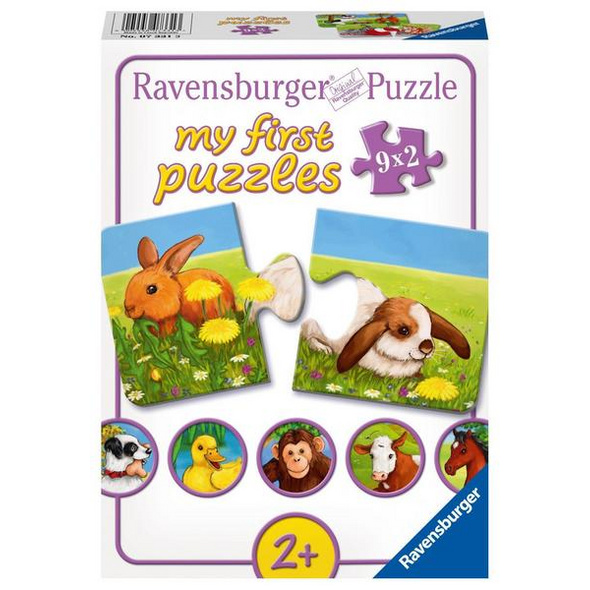 Liebenswerte Tiere, Puzzle (Ravensburger 07331)