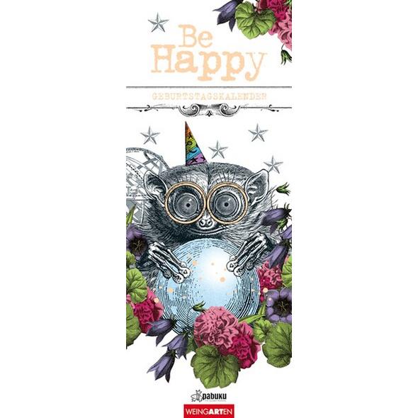 Pabuku - Geburtstagskalender Be Happy