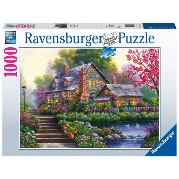 Ravensburger 15184  - Romantisches Cottage, Puzzle,