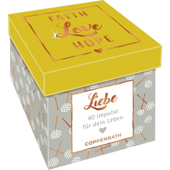 Sprüchebox - Faith, Love, Hope