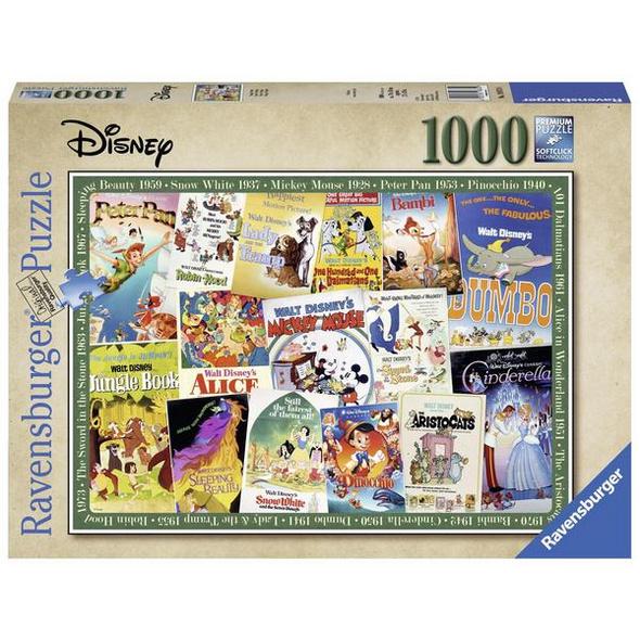 Disney Vintage Movie Poster (Puzzle)