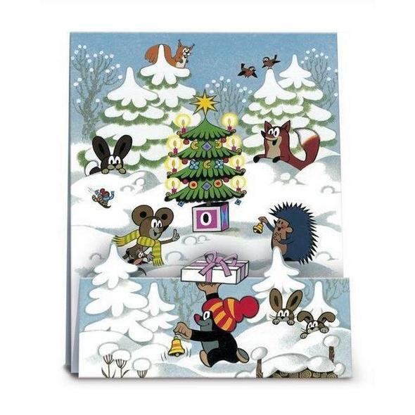 Adventskalender 'Der kleine Maulwurf feiert Weihnachten'