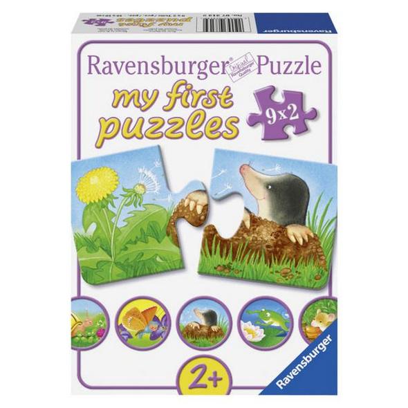 My first Puzzles: Tiere im Garten, Puzzle (Ravensburger 07313)