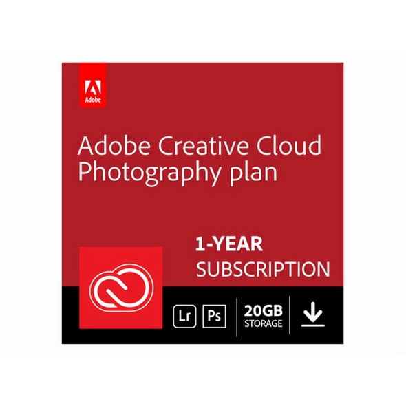 Adobe Creative Cloud Foto-Abo, Software, Aktivierungskarte