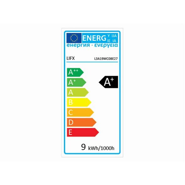 LIFX Mini Colour, WLAN-fähige LED-Lampe, E27